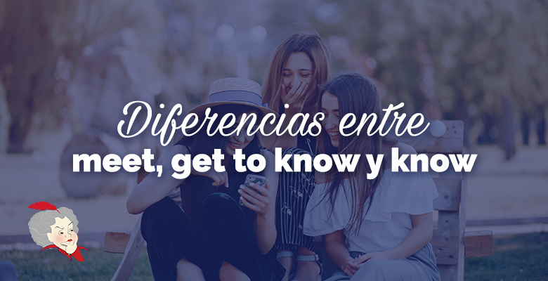 meet, get to know y know